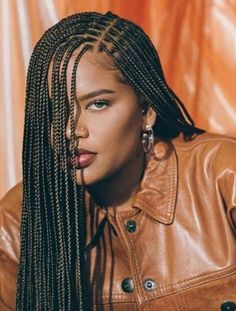 20 Coolest Knotless Box Braids for 2020 - The Trend Spotter Box Braids Hairstyles For Black Women, Braids Hairstyles Pictures, Black Girl Braids, African Braids Hairstyles, Braids For Black Hair, Girls Braids, Girl Hairstyles, Dreadlock Hairstyles, Black Hairstyles