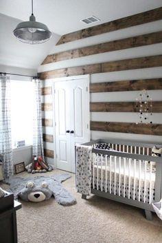 Rustic Baby Rooms, Baby Boy Rooms, Baby Boy Nurseries, Modern Nurseries, Baby Nursery Diy, Baby Room Decor, Nursery Room, Nursery Ideas, Themed Nursery