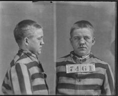 Photograph of Moscow Savage, No. 7461, Records of the Virginia Penitentiary, Series II. Prisoner Records, Subseries B. Photographs and Negatives, Box 91, Accession 41558, State Records Collection, Library of Virginia.