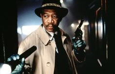 David Fincher, Movie Blog, Movie Tv, Morgan Freeman Movie, Seven 1995, Se7en, Police Detective, Lex Luthor, Al Pacino