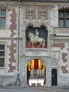 Blois (Loire Valley), France – Chateau Royal de Blois 9th century