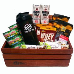 We all have those gym rats in our life, they love the crossfit lifesyle so why not get them a crossfit gift to compliment it. Packed with protein!