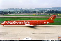 "Crossair ""McDonald's"""