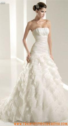 6209  Vestido de Novia  White One