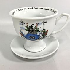Hendricks Gin Tea Cup Ltd Ed Heavens I think My Mind Just Rose Above My Head #HendricksGin