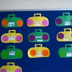 Radio craft idea for kids | Crafts and Worksheets for Preschool,Toddler and Kindergarten