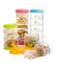 We featured the #Innobaby Packin' SMART set in our May issue. This stackable container is perfect for families on the go. With three to five separate compartments, this smartly designed product helps parents keep formula, pacifier and snacks organized.