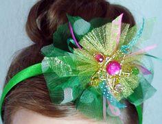 Gold Christmas Star  Christmas Headband  Girls Hair by liluxe, $14.99