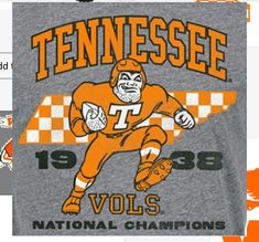 Tennessee Volunteers Football, Tennessee Football, Kobe Bryant Pictures, Go Vols, Football Images, College Football, Orange, Sports, Hs Sports