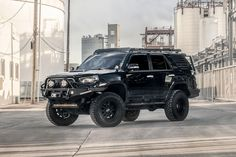 10 Lifted Gen that will Inspire Your Build Lifted 4runner, Toyota 4runner Trd, Toyota Four Runner, Overland 4runner, Toyota Lift, Zombie Vehicle, Black Rhino Wheels, Bull Bar, 4x4