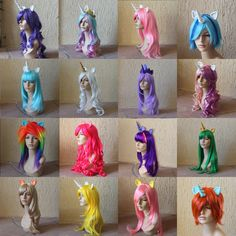 Unicorn wigs, if anyone is looking to get me an early bday present