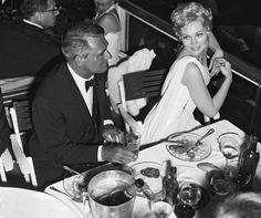 Cary Grant and Kim Novak, 1959.