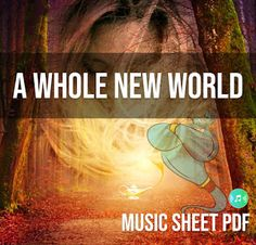 A Whole New World SATB Music Sheet PDF file One of the songs from Disney's 1992 animated film Aladdin , which is included in its soun. Aladdin And Jasmine, Song Of The Year, A Whole New World, Magic Carpet, Original Song, World Music, Animation Film, Disney S