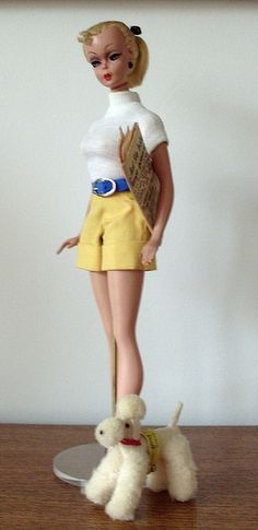 Bild Lilli by basicjoe, via Flickr. The German novelty doll that inspired Barbie