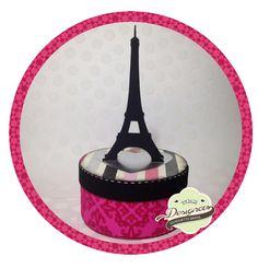 pap caixinha torre Eiffel