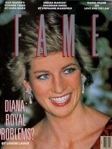 Rare Fame Magazine February 1989 - Princess Diana Royal Family