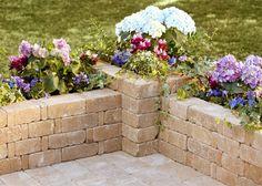 How to Build a Rumblestone 90-Degree Planter   Garden Club