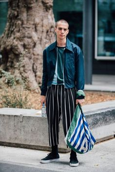 Menswear Street Style from Paris Mens 2017 | British Vogue