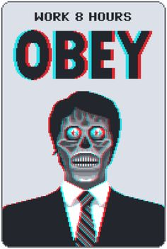 #They_Live - Put on your glasses.