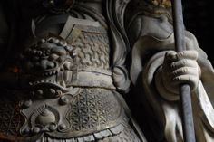 多聞天-koumokuten-(viruupaakSa) One person of the Buddha of a 天部(tenbu) ,Moreover, one in four persons' guardian deity. 東大寺(toudaiji)
