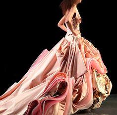 My wedding dress is a spectacular Christian Dior gown. I am a little afraid to wear it...