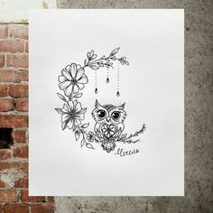Owl Tattoo Design Ideas The Best Collection Top Rated Stylish Trendy Tattoo Designs Ideas For Girls Women Men Biggest New Tattoo Images Archive Owl Tattoo Design, Tattoo Designs, Tattoo Ideas, Name Tattoos, Body Art Tattoos, Small Tattoos, Sleeve Tattoos, Moon Tattoos, Anchor Tattoos