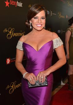 Robin Meade at the Gracie Awards.