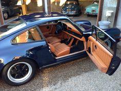 1984 Porsche 911 Carrera  DunkelBlau with Cork interior