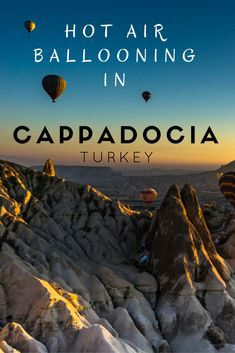 An experience of a life time, hot air ballooning over Cappadocia. This should definitely be on your list of things to do in Turkey. It was jaw dropping. Check out our post and how amazing it looks. #turkey #amazingexperiences #europetravels