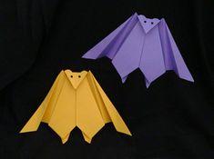 Origami Vampire Bat via Make-Origami.com