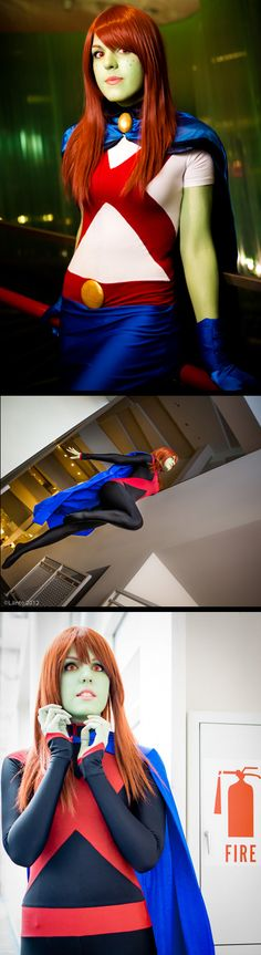 Miss Martian from Young Justice | Youmacon 2011