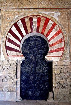 Door, Medina Azahara, Spain