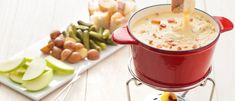 Cook with Campbells. Cheese and Double Smoked Bacon Fondue Fondue Recipes, Appetizer Recipes, Cooking Recipes, Appetizers, Gouda, Fondue Party, Party Dips, Smoked Bacon, Pork Dishes