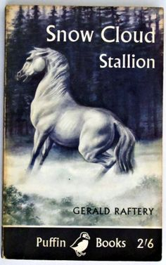 Snow cloud stallion; Puffin book from 1960 - Love the artwork! For the life of me, I can't remember if I ever read this book, but I'm pinning it anyway.