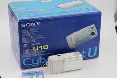 Sony Cyber-shot DSC-U10 1.3 MP Digital Camera Silver #Sony #photography