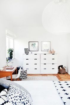 White is one of the best color for your home style. #CroscillLiving