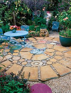 40 ideas for patios! Great photos