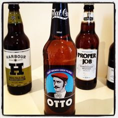 Flat Cap Brewery, Cornwall - Otto Pilsner Lager - ok but would place behind Meantime, Sharp's and Little Beer Corp's Pilsners