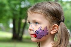 I'm doing some scrapbooking this afternoon, and I thought it might be fun to share these pictures of my kids with their face paint (I'm currently using them on a layout). Joshua got a reptile, of course. A butterfly for girly-girl Lisey. Sonia is a huge turtle fan (she likes red-eared sliders and Galapagos turtles …
