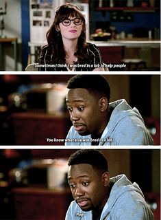 "When he completely missed the point. | 23 Times Winston Bishop Was The Most Lovable Weirdo On ""New Girl"""