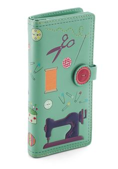 Oh Sew Chic Wallet, #ModCloth