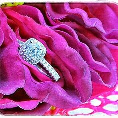 Stunning Halo Engagement ring available now