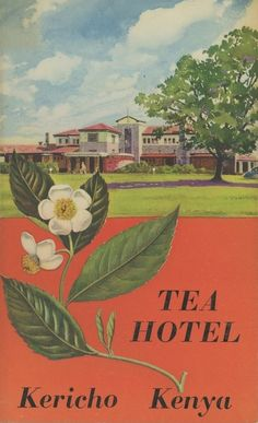 Tea Hotel Kericho 1958 Kenya Africa, Out Of Africa, East Africa, History Posters, Rift Valley, Vintage Hotels, African History, Vintage Travel Posters, Continents