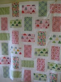 Rainy Days Block Quilt | FaveQuilts.com I love this quilt! It would make a wonderful baby gift.