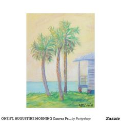 ONE ST. AUGUSTINE MORNING Canvas Print