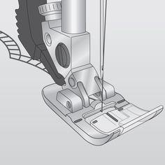 Pfaff - Fancy Stitch Foot for IDT™ System