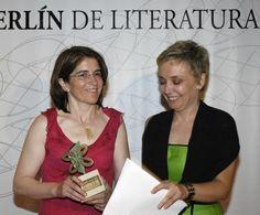 Carmela González (Biblos Club de Lectores). Premio a colaboración editorial 2005 con Celia Torres