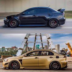 Top or bottom? #Mitsubishi #Evolution #Top