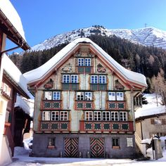 Like the fairy tale - Hansel & Gretel andermatt Beautiful Places To Travel, Beautiful Hotels, Cool Places To Visit, Andermatt, Chalet Design, Swiss Chalet, Swiss Design, Travel Bugs, Its A Wonderful Life