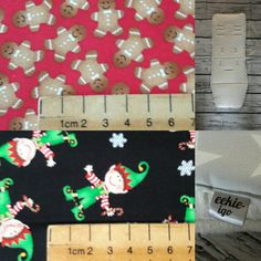 Christmas pram liner custom made gingerbread man elves by eekieigo